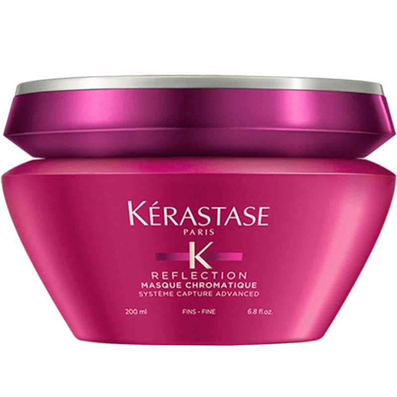kerastase reflection masque chromatique fine hair nourishing 200ml קרסטס רפלקשן מסיכה לשיער דק