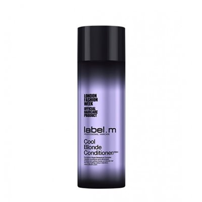 label.m cool blonde conditioner-ליבל מ