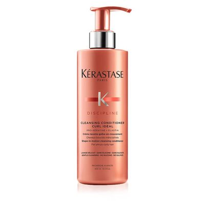 kerastase discipline cleansing conditioner curl ideal hair conditioner קרסטס מרכך לתלתלים דיספלין