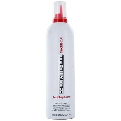 paul mitchel felxiblestyle sculpting foam 500ml פול מיטשל