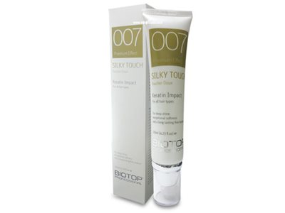 biotop 007 silky touch keratin impact 125ml ביוטופ