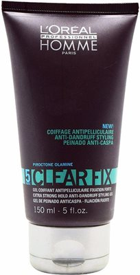 loreal homme clear fix anti rose styling 5 150ml לוריאל לגבר גל לעיצוב השיער